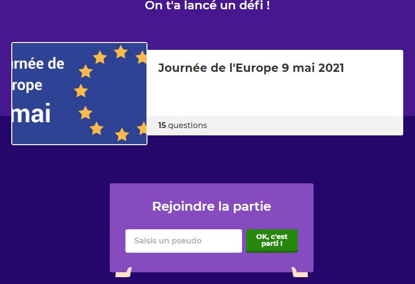 Quiz - Grand Jeu de l'Europe